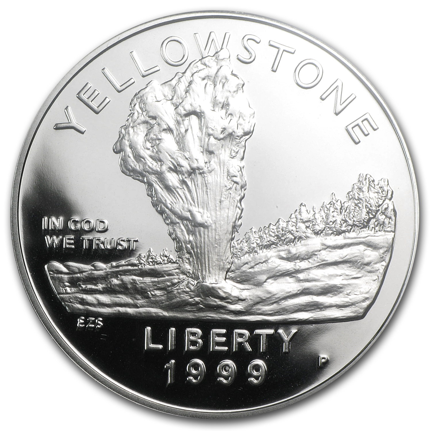 1999-P Yellowstone Park $1 Silver Commem PR-70 PCGS